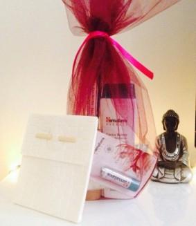 Cadeaubon massage + verzorgingsproducten