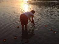 gelukskaarsje Ganges