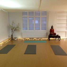 De FLOW yogazaal