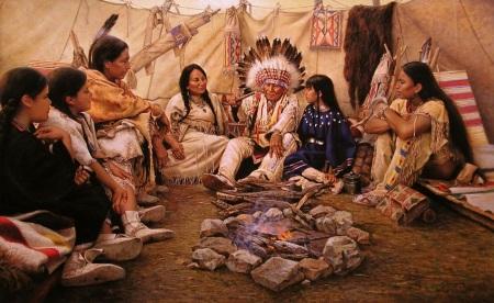 Bij de indianen_2