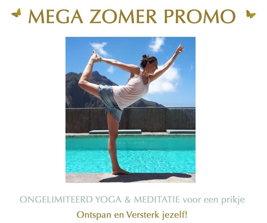 Banner mega zomer promo 2018