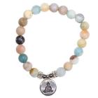Mala armband met boeddha